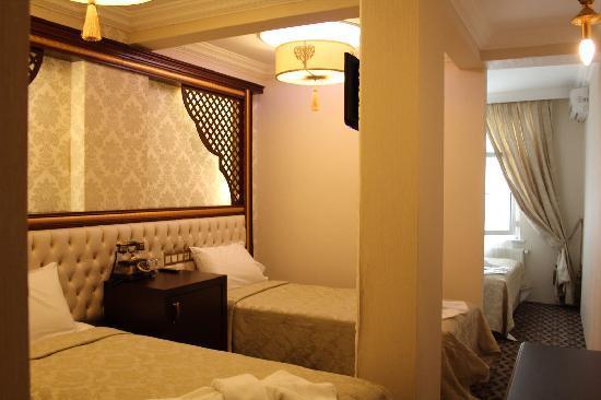 Salinas Istanbul Hotel : family room*