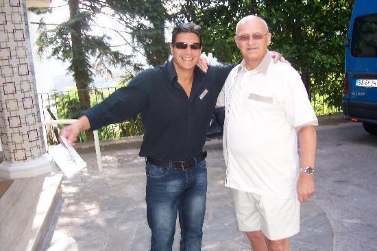 Grand Hotel Hermitage & Villa Romita: Franco & me