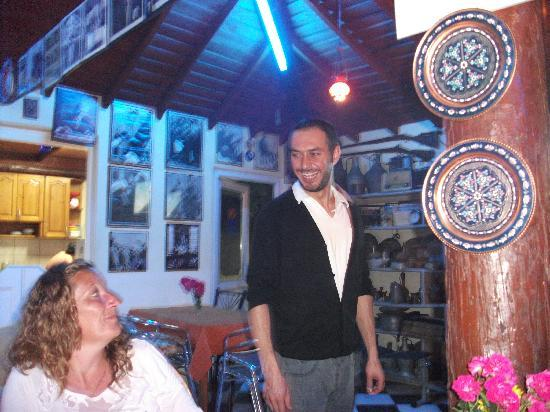 Elif's Cafe : kurtulus owner of elif