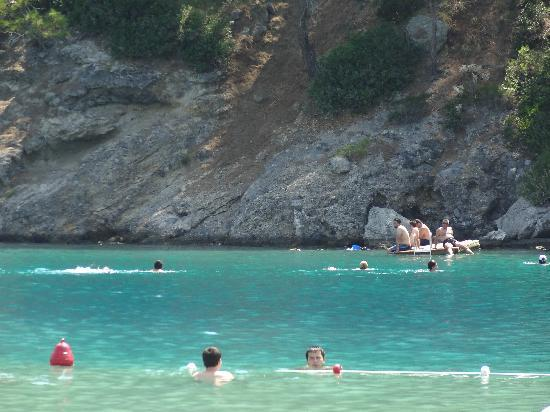 Plage d'Oludeniz (Lagon bleu) : Amazing colour of water