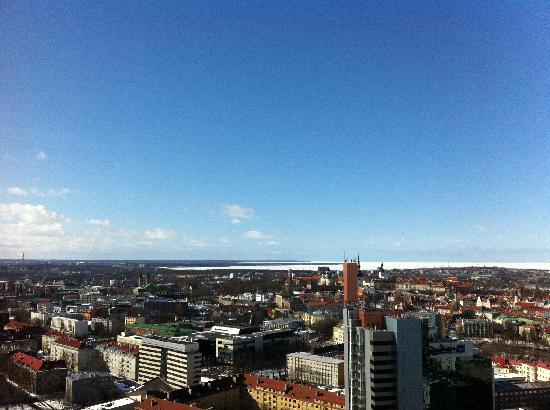 Swissotel Tallinn: View from our room