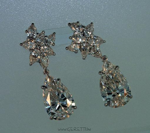 GERETTI Jewellery & Diamonds : Fabulous diamond earrings by Geretti for Italia