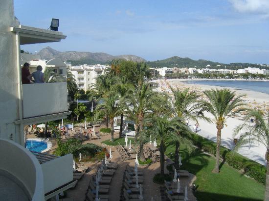 Vanity Hotel Golf: View from Balcony