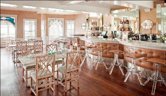 The Tides Beach Club: dining room wide