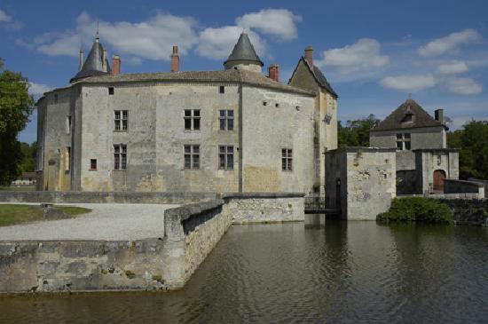 La Brede, Francia: Château de La Brède - Montesquieu, Bordeaux, Gironde, Aquitaine, France