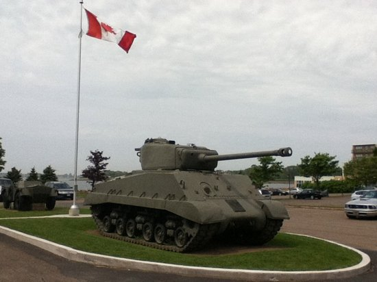 The Prince Edward Island Regiment Museum: outside the museum