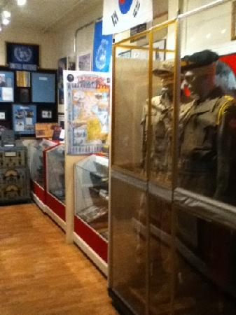 The Prince Edward Island Regiment Museum: inside the museum