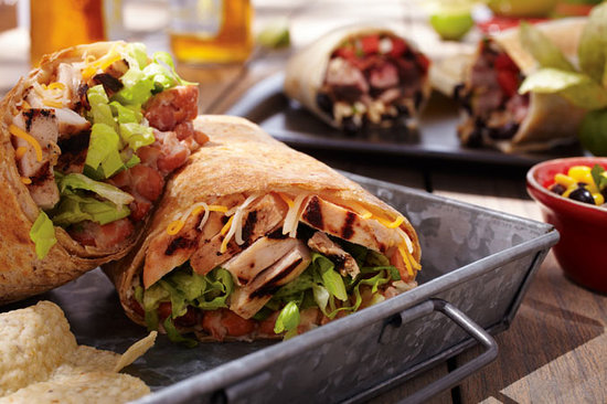 Lime: We are not your average burrito joint.