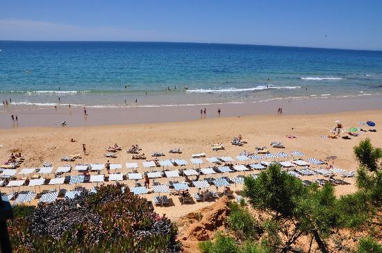 Club Med Da Balaia: la plage a marée basse