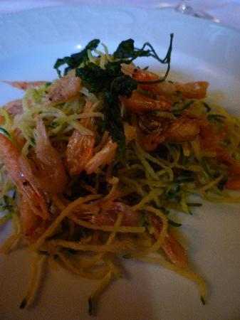 Ristorante Aquila Nigra: Piccola frittura di saltarelli e zucchine