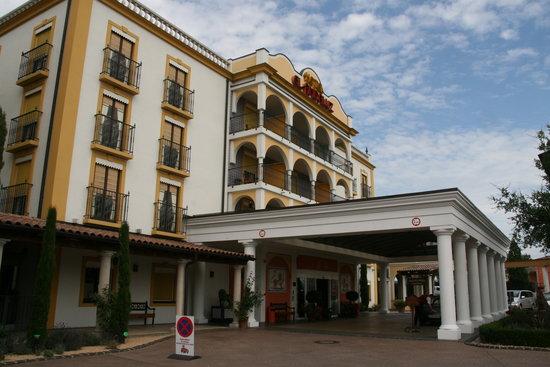 "Hotel ""El Andaluz"" Europa-Park: Eingangsbereich El Andaluz"