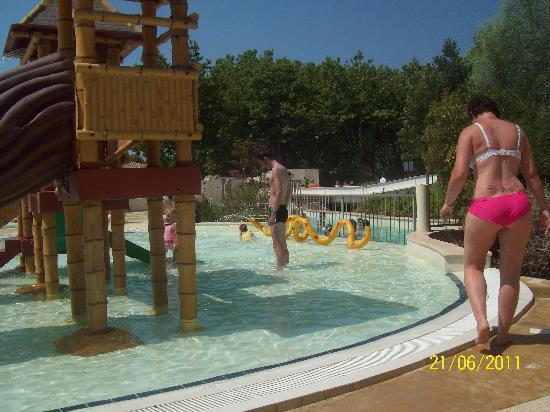 Valras-Plage, France: one of the kids pools