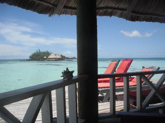 Coco Plum Island Resort: View from the Bar