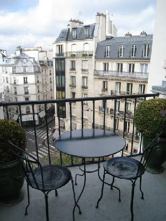 Hôtel Relais Saint Germain : View from room at top