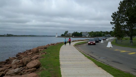 Charlottetown, Canada: boardwalk area