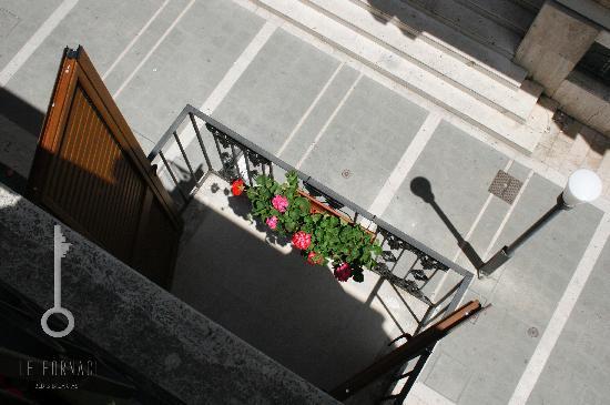 Le Fornaci Apartment : il balcone
