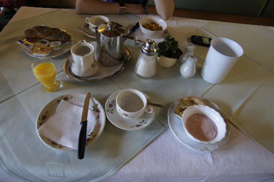 Hotel Schoenblick : colazione