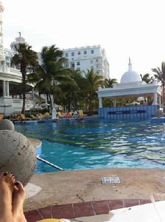 Hotel Riu Palace Las Americas: pool bar