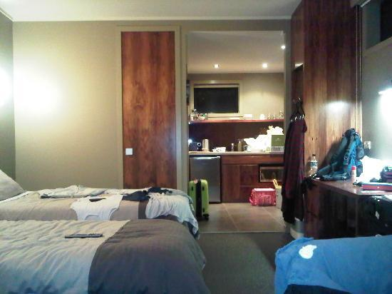 Milford Sound Lodge: room' s view