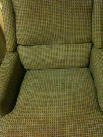 Extended Stay America - Tulsa - Midtown: stained upholstery in rooms
