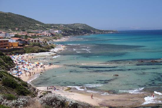 Castelsardo Lu Bagnu spiaggia