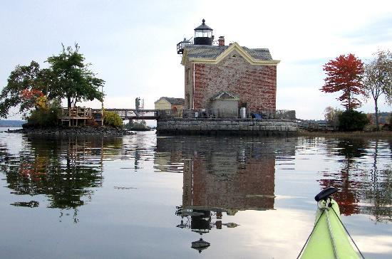 Hudson River Maritime Museum : saugerties light house
