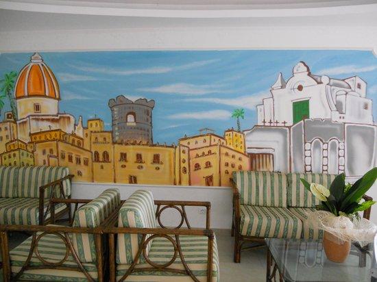 Hotel Tramonto d'Oro: Hall dell'hotel