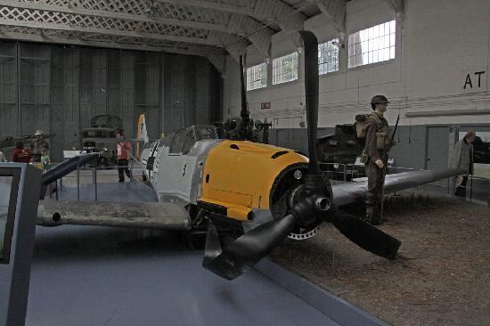 IWM Duxford: BF 109 crash recreation