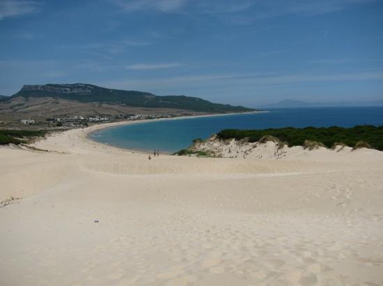 Playa de Bolonia: playa  bolonia dall'alto della duna che la domina ad occidente