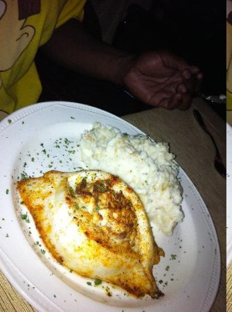 Felicita Golf Resort and Spa: orange roughy
