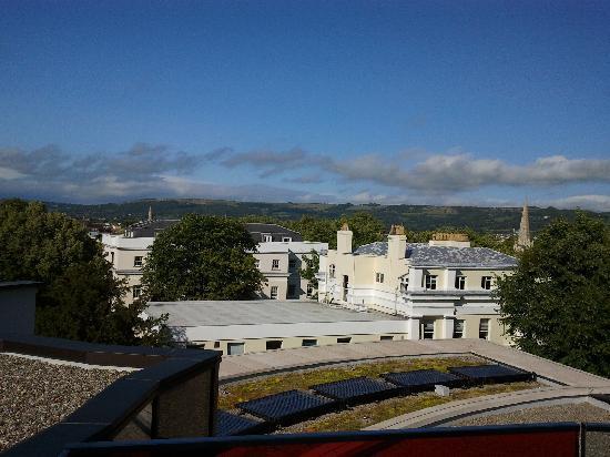 The Montpellier Chapter Hotel: balcony view