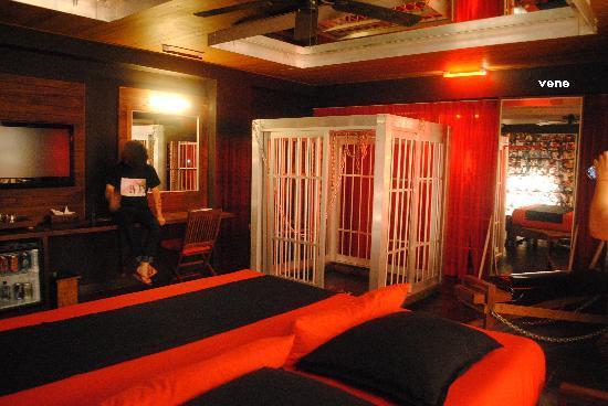 Reina Roja Hotel: cuarto sexual