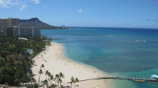 Hilton Hawaiian Village Waikiki Beach Resort: Rainbow Tower Balcony
