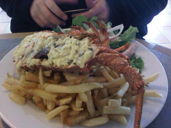 Craypot Cafe & Bar: crayfish