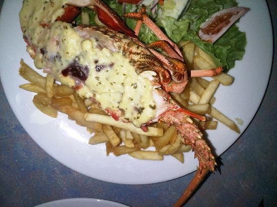 Craypot Cafe & Bar: crayfish