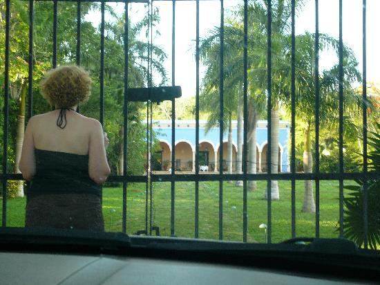 Hacienda Santa Rosa, A Luxury Collection Hotel, Santa Rosa: locked out on our arrival