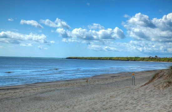 Ballinclea House Bed and Breakfast: Beach at Brittas  Bay, County Wicklow