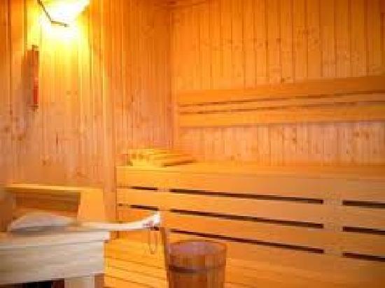 Hotel Arche Noah: Sauna im App.13