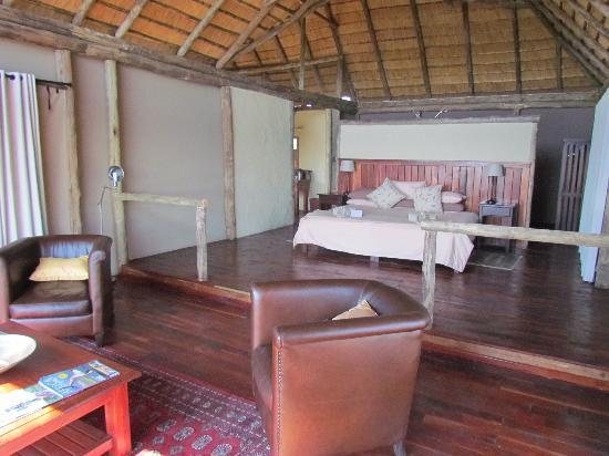 "Lagoon Camp - Kwando Safaris: Lagoon ""tent"" main room"