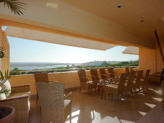 Quinta Do Lago Hotel: View from the bar on the 4th floor