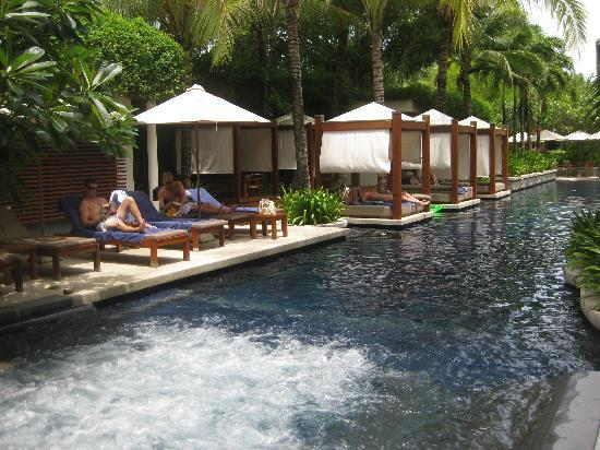 The Chava Resort: lounging by the pool