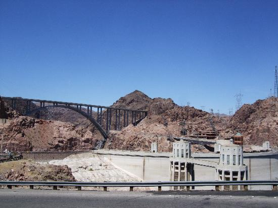 Hoover Dam: view from Arizona side