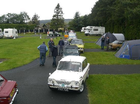 Roundwood, Irland: Imps on the camp site