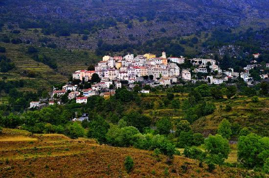 Provence, France: Perched village of Coursegoules