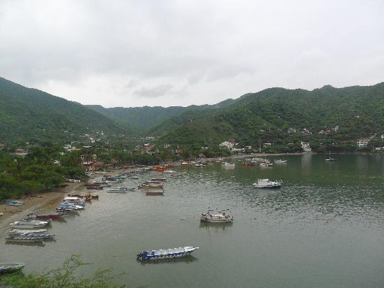 Hotel Bahia Taganga: Vista desde la habitacion
