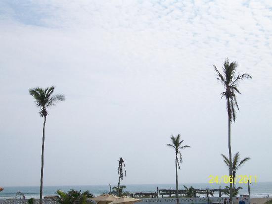 Hotel Balneario Tecolutla: vista al mar!