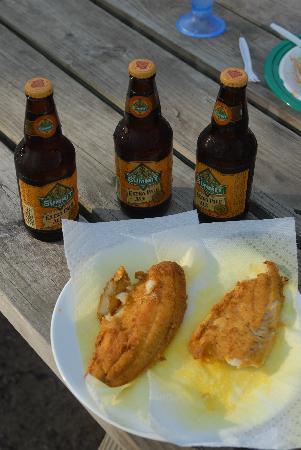 Lakewood Lodge: Beer ajnd Fish