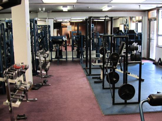 Vail Run Resort: Work out room needs updating