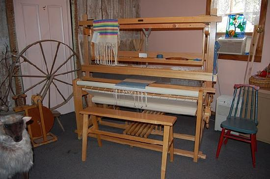 Destrehan Plantation: Weaving room