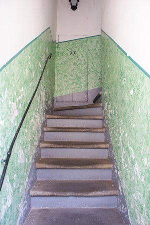 Hotel Sampaoli: The narrow stairs